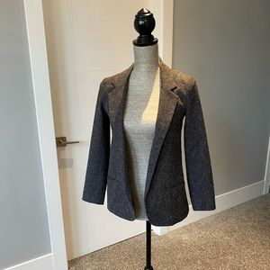 Silence and Noise Grey Open Blazer